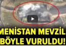 Azerbaycan Ordusu Ateş Açan Ermenistan Mevzilerini Böyle Vurdu! Türkiye'den Destek Yağdı